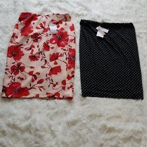 2 skirts BNWT
